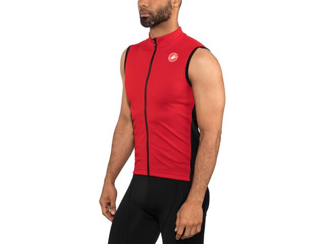 Castelli Entrata 3 Camiseta sin mangas FZ Hombre, red